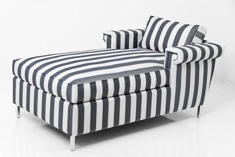 Awesome Black And White Chaise Gray European Inspired Chaise Lounge