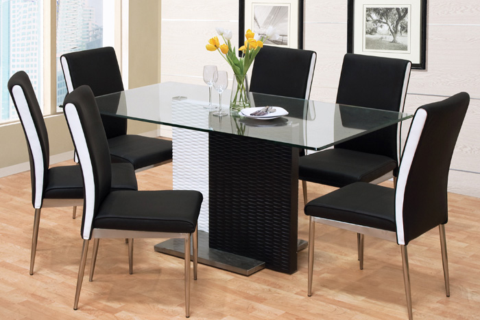 Awesome Black And White Dining Chairs Chairs Astounding Black And White Dining Chairs Black And White