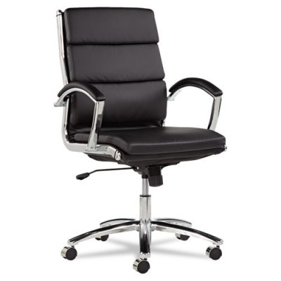 Awesome Black Desk Chair Managers Mid Back Office Desk Chair Neo Modern Select White Red