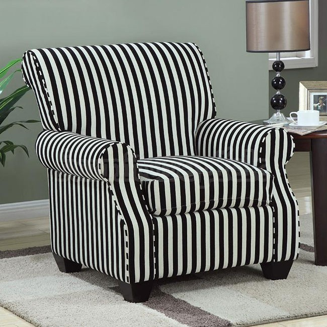 Awesome Black White Accent Chair Black And White Accent Chair Hdviet