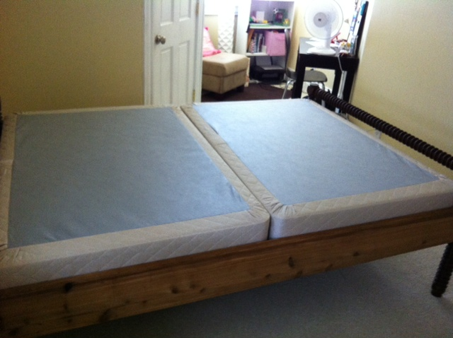 Awesome Box Spring Frame Queen Frames That Support Queen Split Box Springs