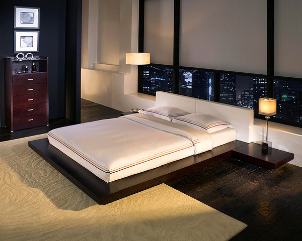 Awesome California King Floor Bed 1 Contemporary Furniture Product Page