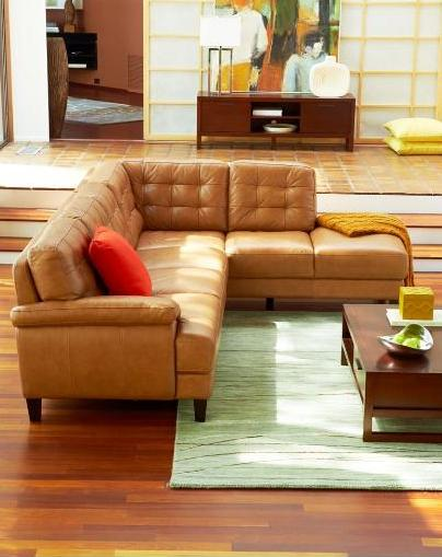Awesome Camel Color Leather Couch Leather Sofas Thelotteryhouse