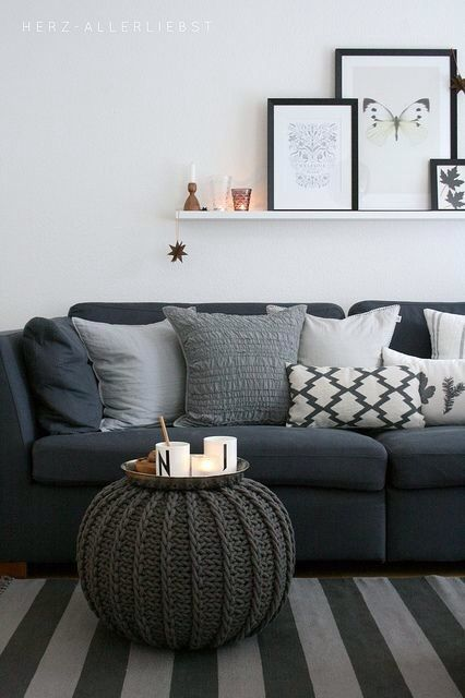 Awesome Charcoal Grey Sofa And Loveseat Best 25 Dark Couch Ideas On Pinterest Dark Sofa Dark Gray Sofa
