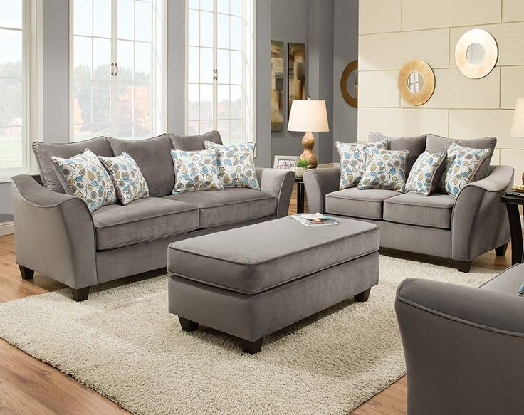 Awesome Charcoal Grey Sofa And Loveseat Best 25 Grey Sofa Set Ideas On Pinterest Living Room Sets