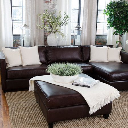 Awesome Chocolate Brown Leather Sofa Best 25 Dark Brown Couch Ideas On Pinterest Leather Couch