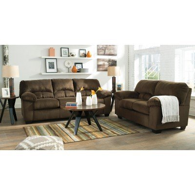 Awesome Chocolate Living Room Furniture Dailey Chocolate Living Room Set Signature Design Furniture Cart