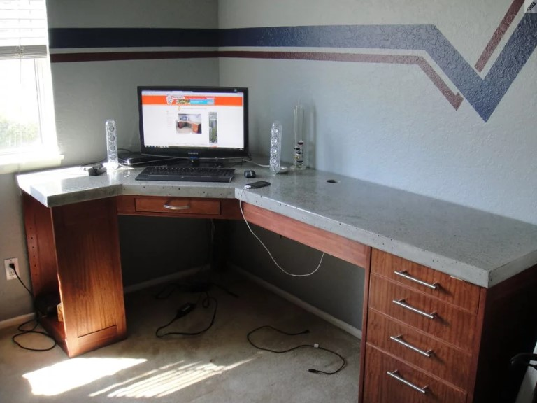 Awesome Corner Pc Desk 21 Ultimate List Of Diy Computer Desk Ideas With Plans