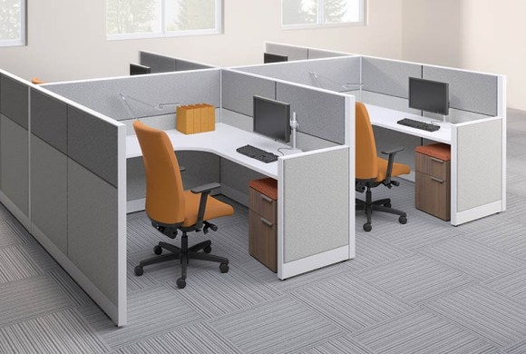 Awesome Cubicle Office Furniture Hon Accelerate Modular Cubicles From Boca Raton Office Furniture