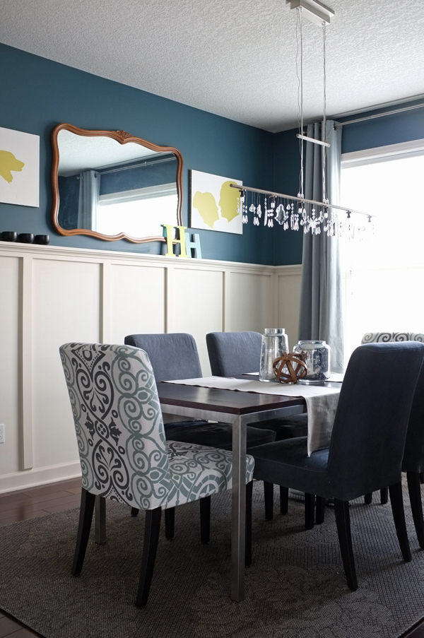 Awesome Dark Teal Dining Chairs Teal Dining Room Chairs Incredible Regarding Other Home Design