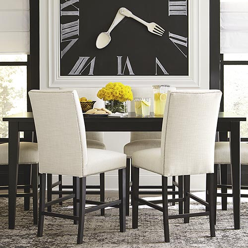 Awesome Dining Room Chairs Black And White Dining Room Furniture Sets Dining Room Furniture Bassett Furniture