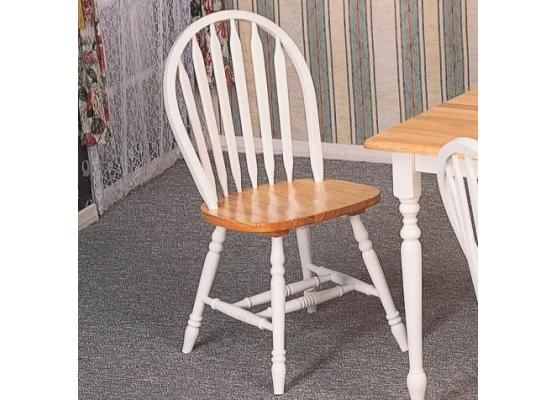 Awesome Dining Side Chairs Coaster Damen Whitenatural Windsor Dining Side Chairs 4133