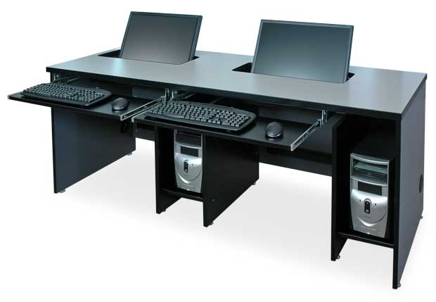 Awesome Double Computer Desk Workstation Stunning Computer Desk Workstation The Office Leader Sperco