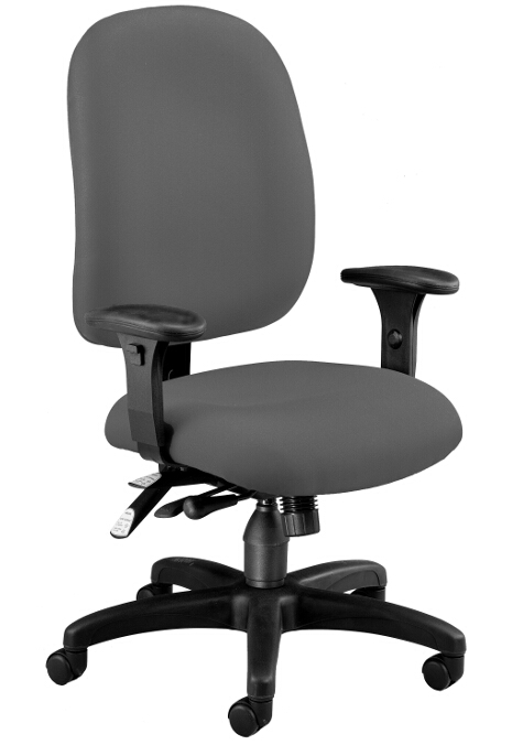 Awesome Ergonomic Task Chair Model 125 Comfyseat Ergonomic Multi Adjustable Fabric Task Chair