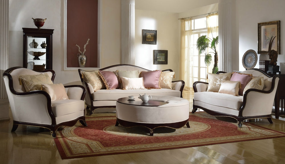 Awesome Formal Sofas For Living Room Dallas Designer Furniture Versailles Formal Living Room Set In