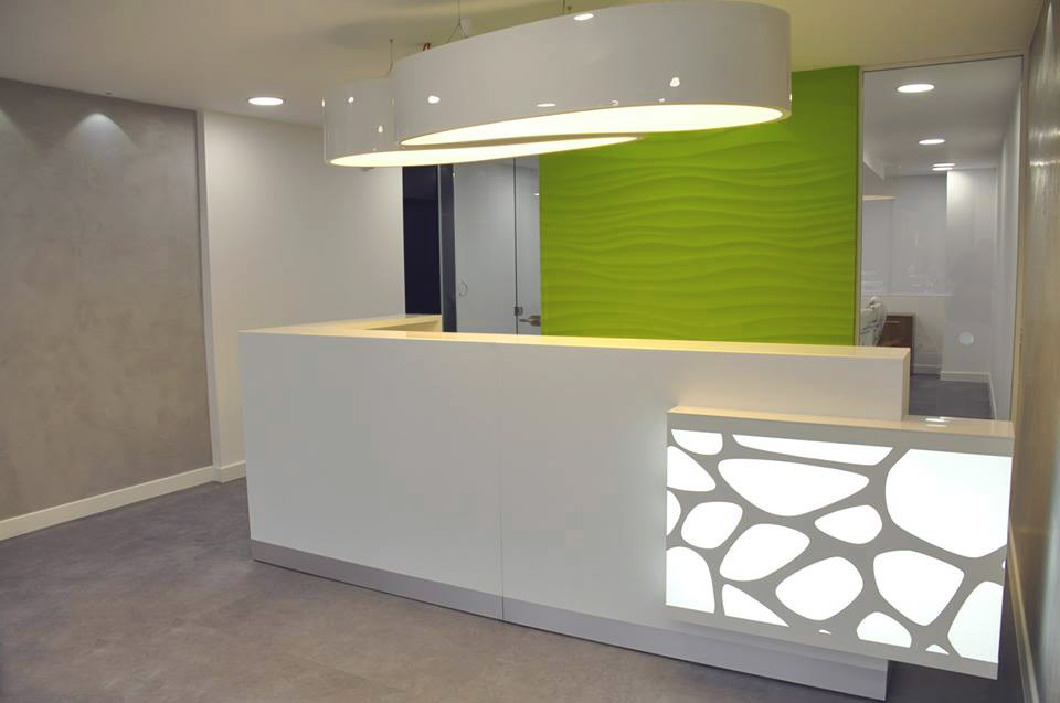 Awesome Front Desk Design Modern Contemporary Reception Desk Furniture All Contemporary Design