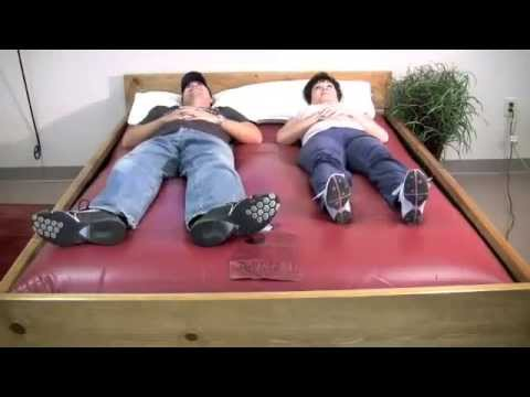 Awesome Full Motion Waterbed Mattress Free Flow Waterbed Mattress Youtube