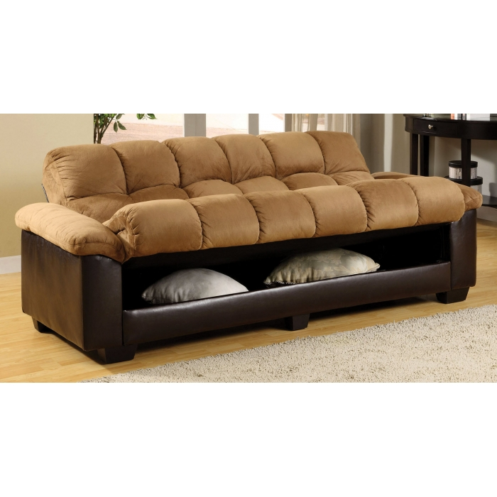 Awesome Futon Bed With Storage Futon Beds With Storage Modern Home Interior Ideas With Stylish