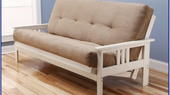 Awesome Futon Frame And Mattress Set Yosemite Queen Size Rustic Lodge Frame With Inner Spring Futon