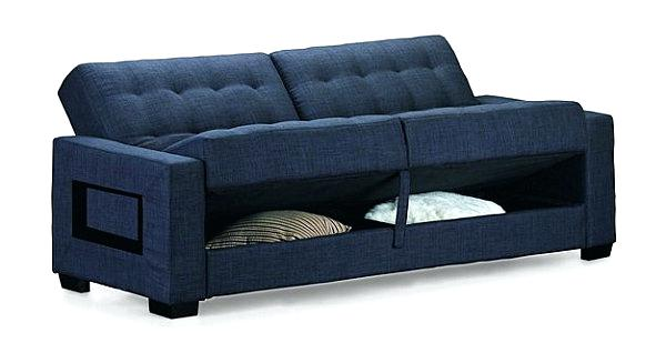 Awesome Futon Sofa Bed With Storage Futon Sofa Bed With Storage Wooden Global Intended For Futon Sofa