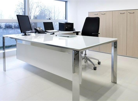 Awesome Glass Office Desk Glass Office Desks From Calibre Furniture