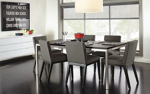 Awesome Gray Dining Room Chairs Incredible Ideas Grey Dining Table And Chairs Crafty Design Gray