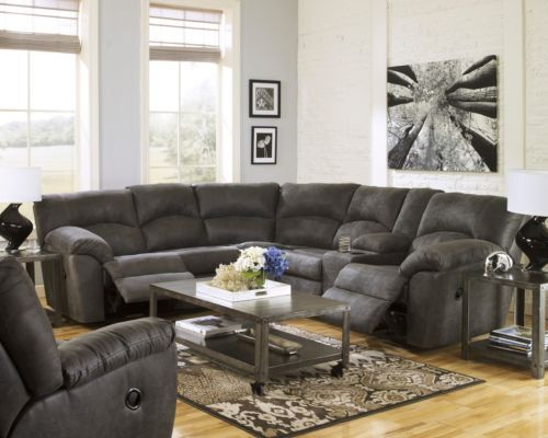 Awesome Gray Sectional Sofa With Recliner Sofas Best Charming Wonderful Reclining Sectional Sofas Recliner