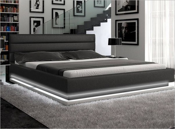 Awesome Grey Cal King Bed Frame Cute Platform Bed Frames King Metal Platform Bed Frames King
