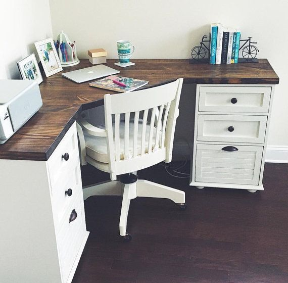 ... Awesome Home Office Desk With Drawers Best 25 Desk Ideas Ideas On  Pinterest Desk Space Room ...