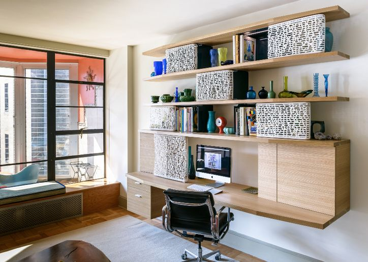 Awesome Home Office Desk With Storage K G Home Office Desk With 3d Printed Doors Normal Projects