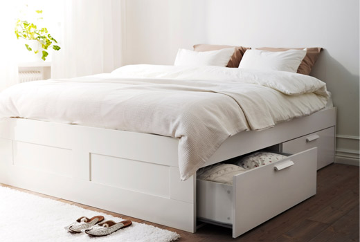Awesome Ikea Full Size Bed And Mattress Storage Beds Ikea