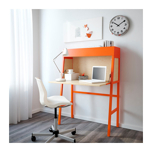 Awesome Ikea Mini Desk Ikea Ps 2014 Secretary Orangebirch Veneer Ikea