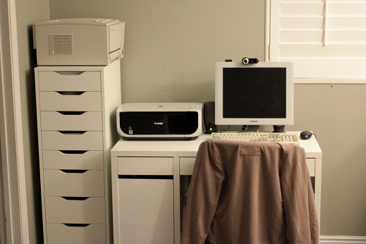 Awesome Ikea Office Storage Cabinets Office Makeover With Ikea The Life Improvement Store Vanilla Joy