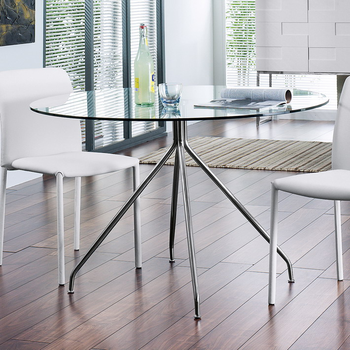 Awesome Ikea Small Glass Dining Table Dining Room Modern Round Glass Dining Tables For Small Dining