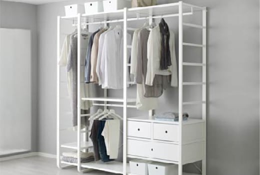 Awesome Ikea Storage Closet Solutions Elvarli System