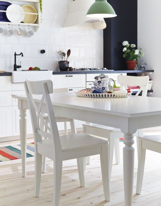 Awesome Ikea White Dining Table And Chairs Furniture 18 Stunning Ikea Ingo Table Design Ideas Ikea Ingo
