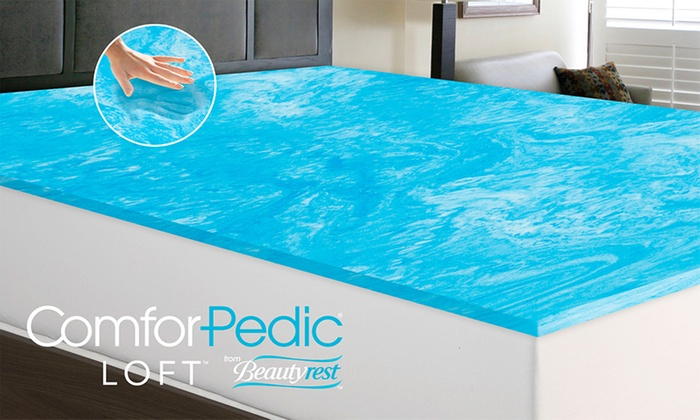 Awesome King Bed Foam Topper 82 Off On Gel Memory Foam Mattress Topper Groupon Goods