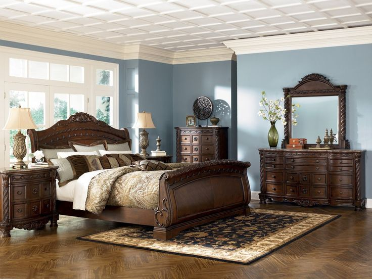 Awesome King Size Bedroom Set Ashley Furniture Pretentious Inspiration Ashley Furniture King Size Bedroom Sets