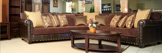 Awesome Leather And Cloth Sectional Custom Sofas Sectionals Wholesale Design Warehouse Fine Furniture