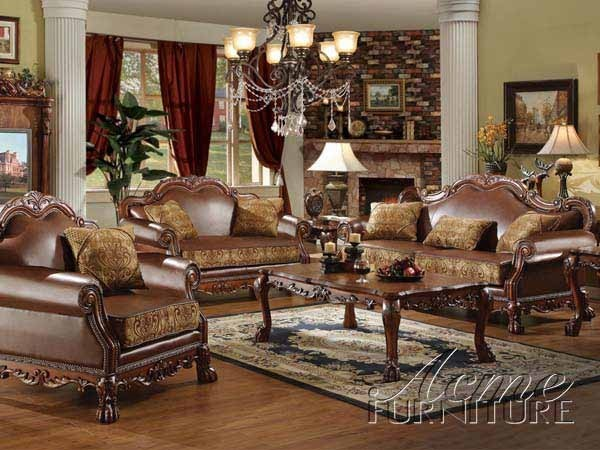 Awesome Leather And Fabric Living Room Sets Amazing Traditional Pu Leather Fabric 2 Pieces Sofa Living Room