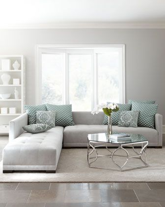 Awesome Light Grey Sectional Couch Best 25 Gray Sectional Sofas Ideas On Pinterest Green Living