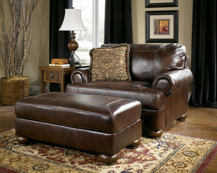 Awesome Living Room Chair With Ottoman Marvellous Leather Living Room Chair Ideas Modern Chairs Living