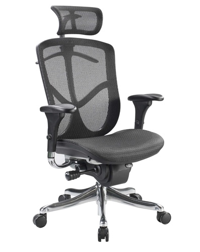 Awesome Mesh Back Office Chair Eurotech Fuzion Fuz9lx Hi Mesh Office Chair Raynor With Headset