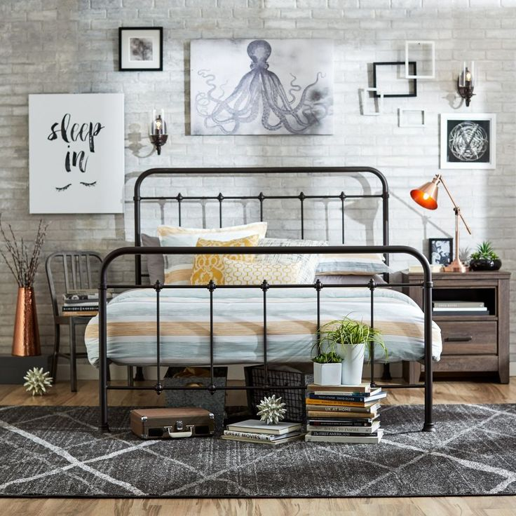 Awesome Metal Queen Size Headboard And Footboard Best 25 Metal Headboards Ideas On Pinterest Benches From