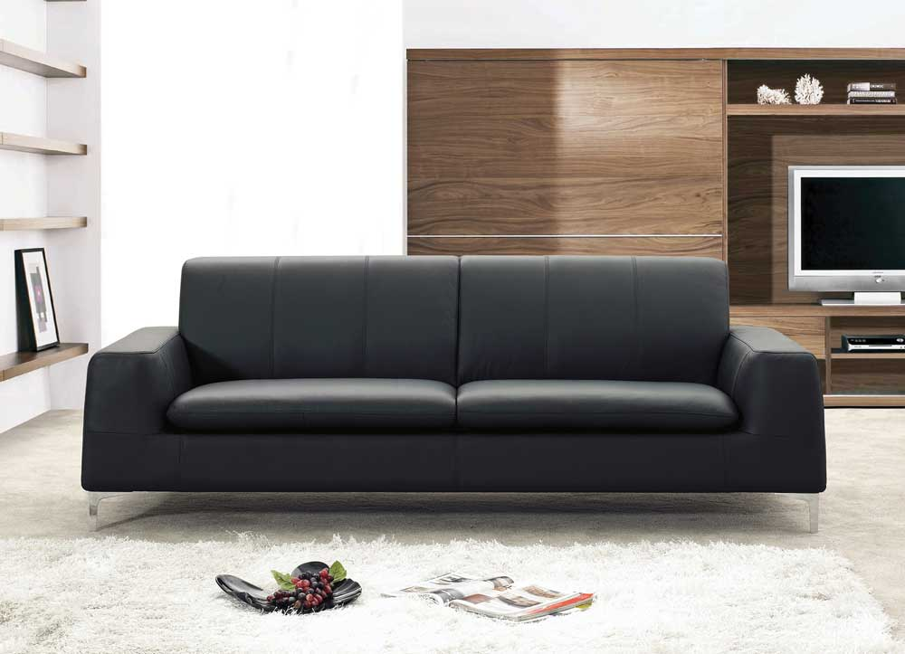 Awesome Modern Black Leather Couch Unique Leather Couches With Jm Tribeca Modern Leather Sofa Jm