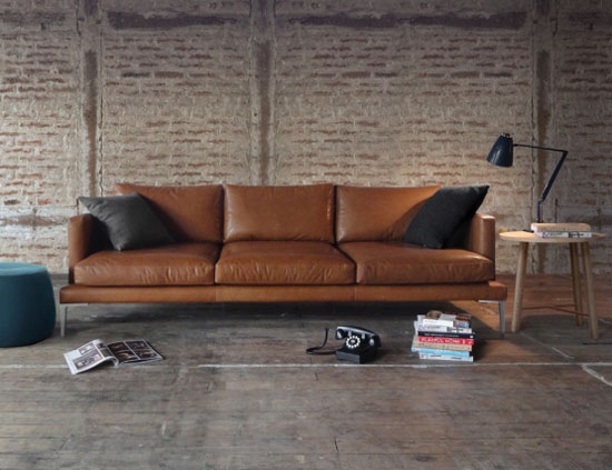 Awesome Modern Brown Leather Sofa Get A Contemporary Look With Modern Leather Sofa Tcg