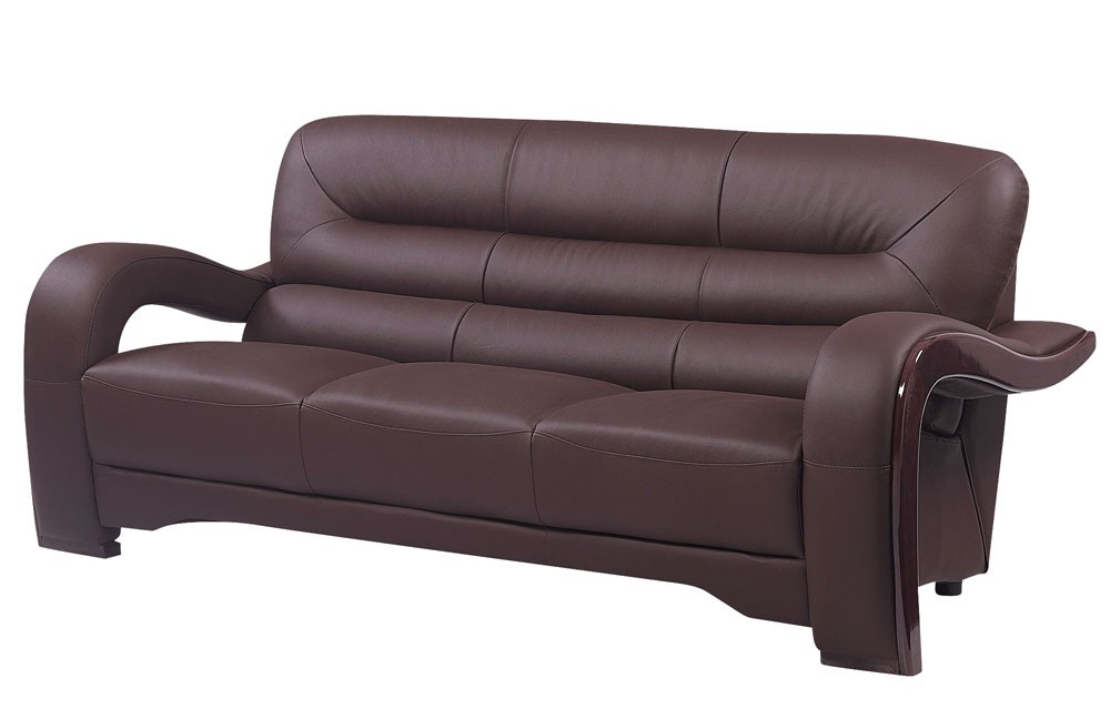 Awesome Modern Brown Leather Sofa Modern Brown Leather Sofa