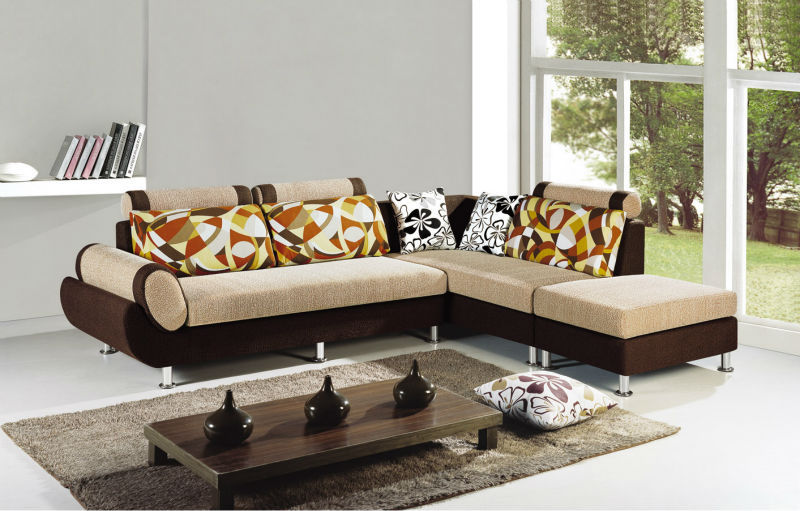 Awesome Modern Fabric Sofa Designs 2014 Leisure Design Modern Fabric Sofa Set Was Made Solid Wood