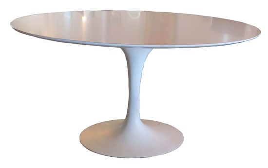 Awesome Modern Pedestal Table Mid Century Modern Eero Saarinen Oval Pedestal Table For Knoll