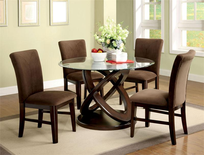 Awesome Modern Round Dining Table Set Modern Round Dining Room Table Amusing Design Modern Modern Round